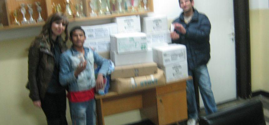 """23.11.2012 Фондация Ейнджълс прави дарение на децата от """"Луи Брайл"""""""